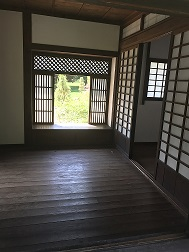 tea house interior