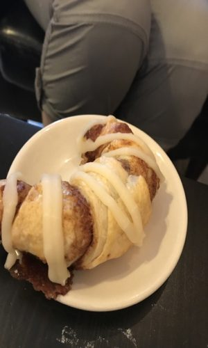 Heather's cinnamon roll