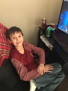 Our adorable grandson Jacob