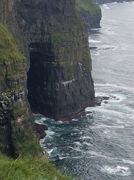 cave in Cliffs of Moher