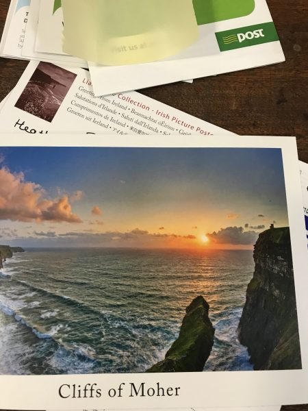 Irish postcards