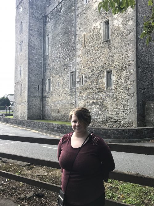 Leah by Bunratty Castle