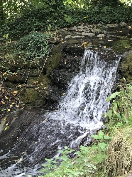 village waterfall