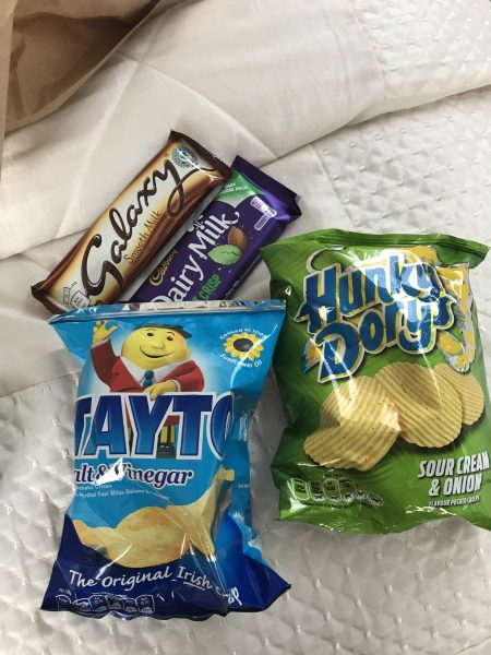 Chips and chocolate