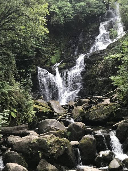 beautiful Torc Waterfalls, Killarney National Park
