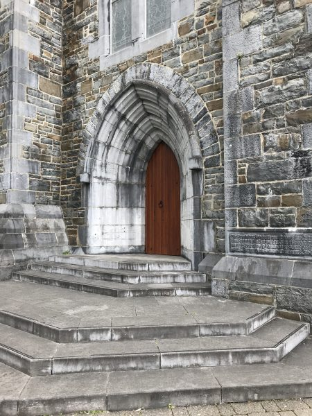arched door of St. Mary's Cathedral