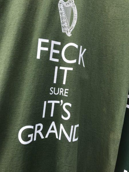The Irish cuss a LOT! Hoodie inscription
