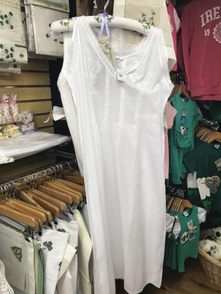 beautiful white Irish lace gown