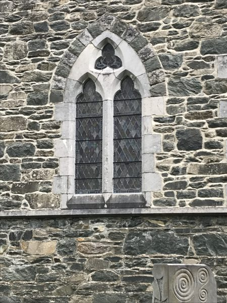 Pretty window at St. Mary's