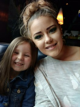 Our beautiful daughter Eden and our precious granddaughter Piper