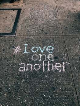 Love one another. Image source: Unsplash