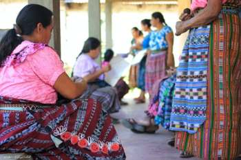 women working in Guatemala