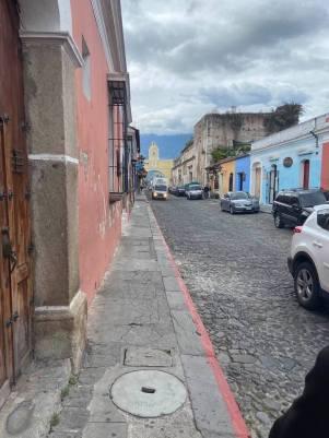 Antigua, Guatemala's cobblestone streets