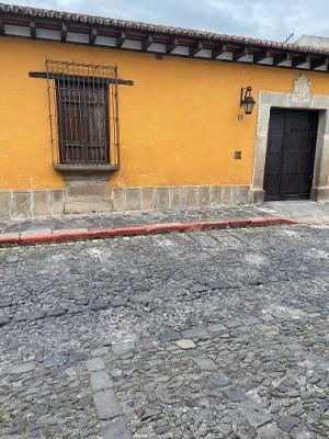 cobblestones streets of Antigua