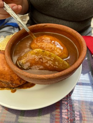 Pepian is a popular Guatemalan dish.