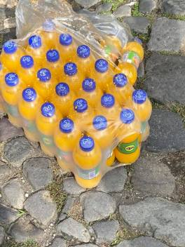 cold orange drinks to serve the people