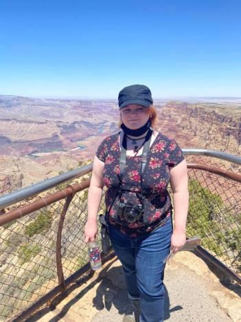 Leah at Grand Canyon
