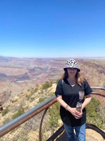 me at Grand Canyon
