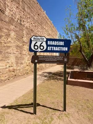 Route 66 roadside attraction