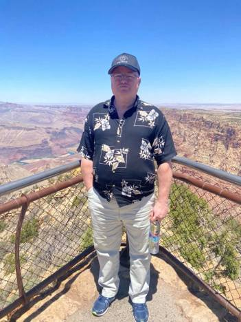 Ray at Grand Canyon