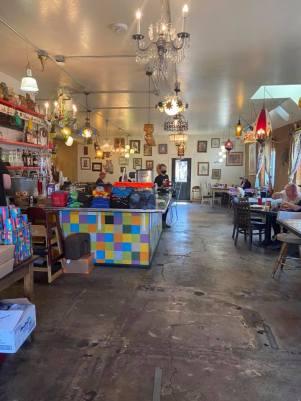 Inside The Toasted Owl Restaurant