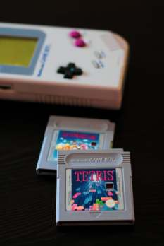 Tetris game. Image source: Unsplash. Hello I'm Nik.