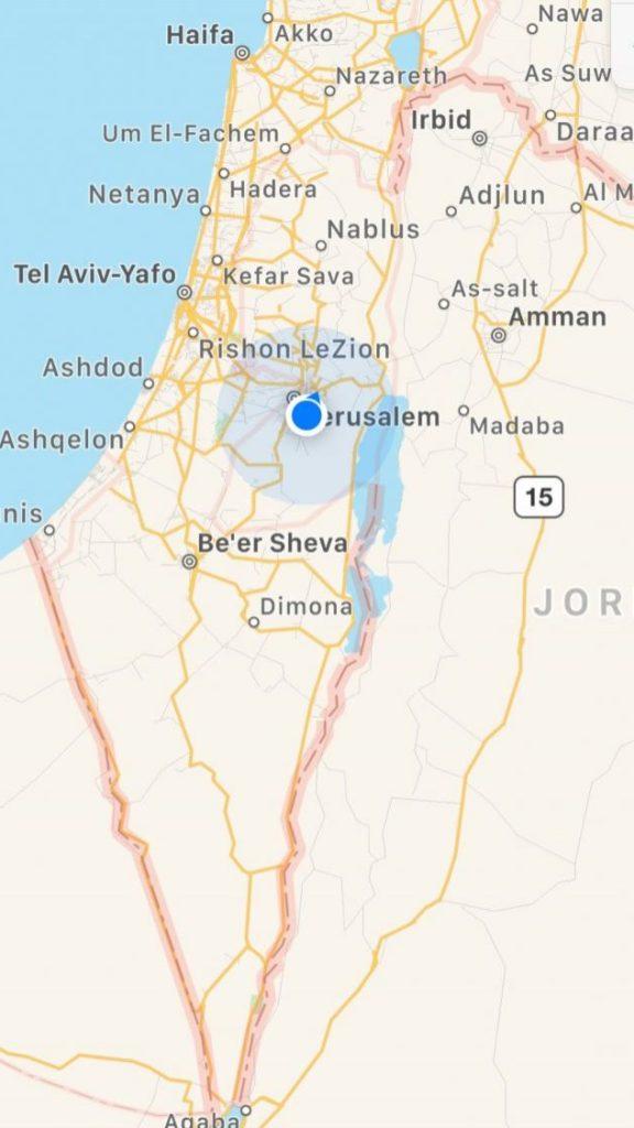 Holy Land Map