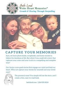 Capture Your Memories Flyer
