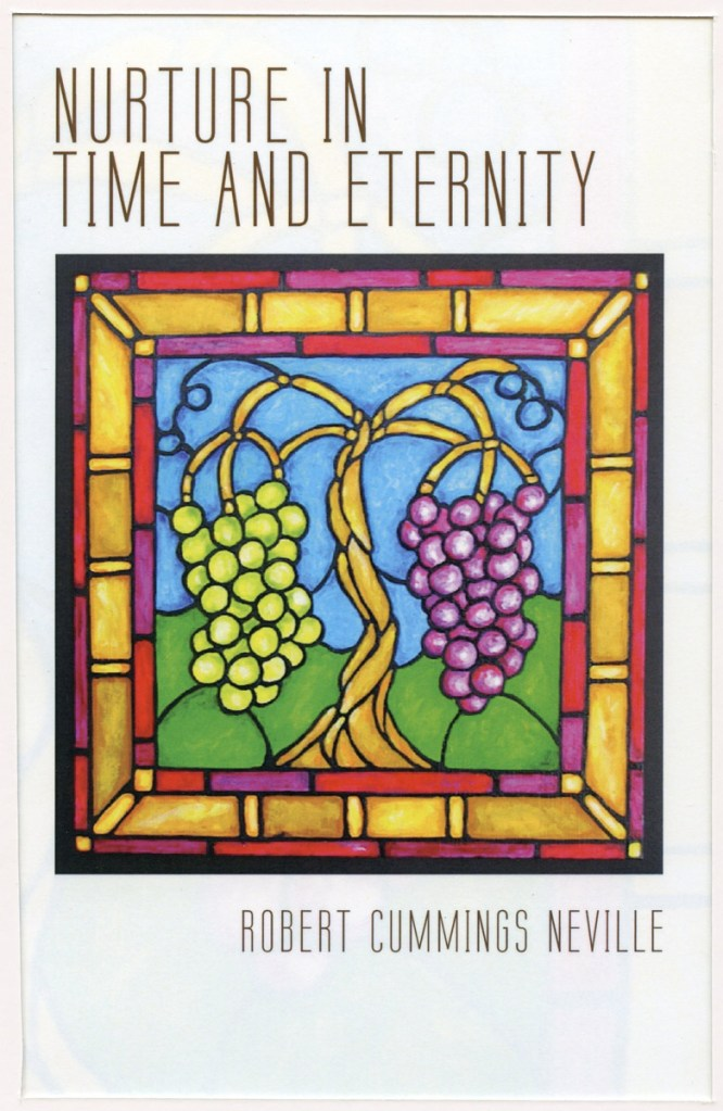 "Book Cover: ""Nurture in Time and Eternity"""
