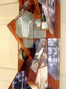 Detail, Gears sculpture