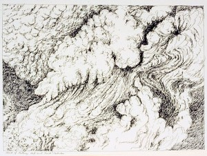 Ash Cloud, detail, ERS series