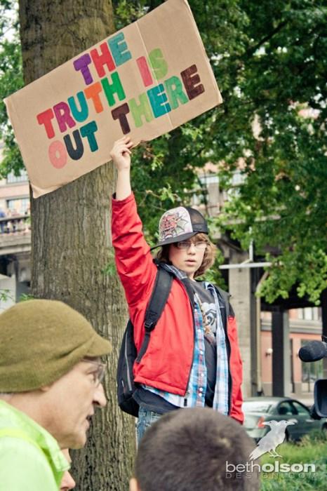 Occupy Portland 2011 by Beth Olson Design