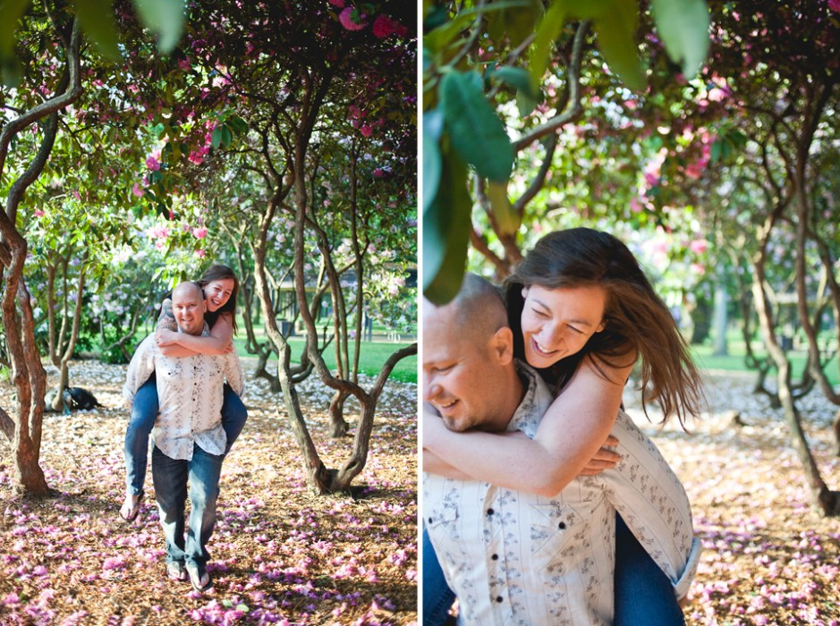 Ashley + Michael   Penninsula Park Engagement