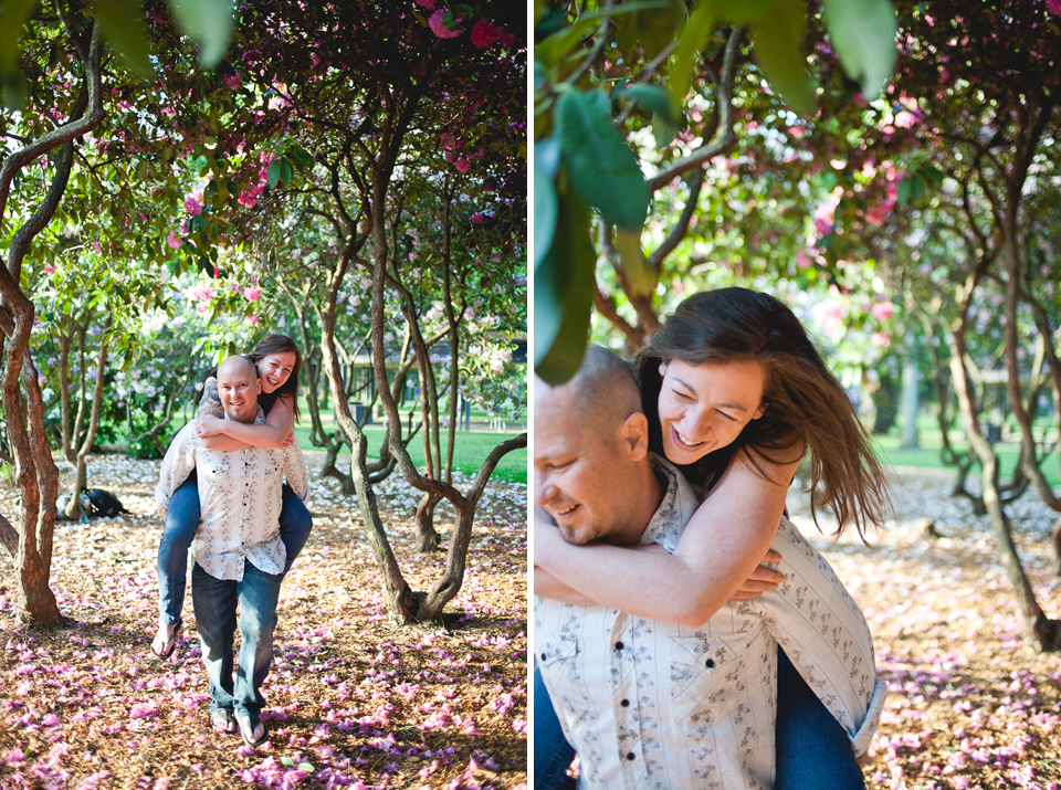 Ashley + Michael | Penninsula Park Engagement