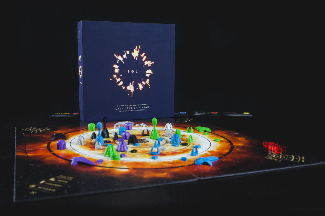 Sol: Last Days of a Star Boardgame
