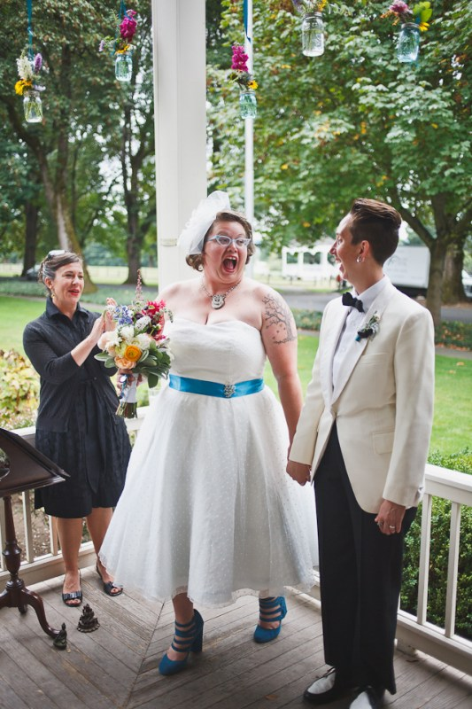Tamara + Aubrey's Vintage DIY Grant House Wedding