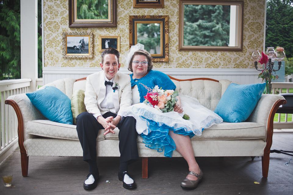 Tamara + Aubrey's Vintage DIY Grant House Wedding