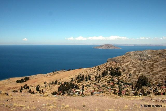 Isla Amantani, Lake Titicaca, Peru