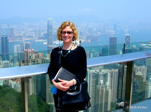 The View from Victoria Peak's Sky Terrace 428 on a really clear day