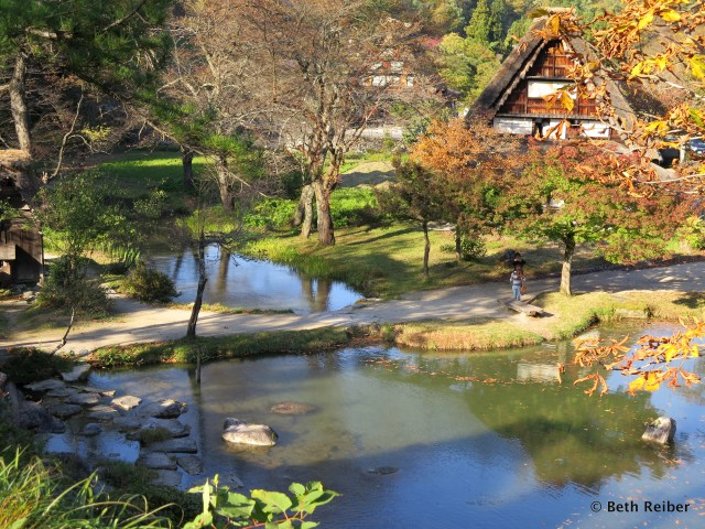 Shirakawa-go in the Japan Alps