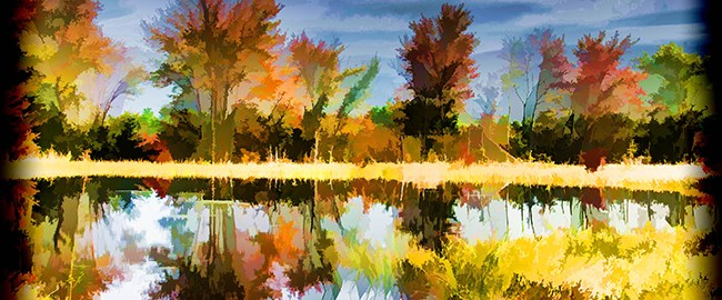 Fall Colors Reflection by Beth Sawickie www.bethsawickie.com/fall-colors-reflection