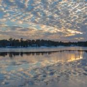 Sunset Cloud Reflection Feb 28 2015 - Beth Sawickie