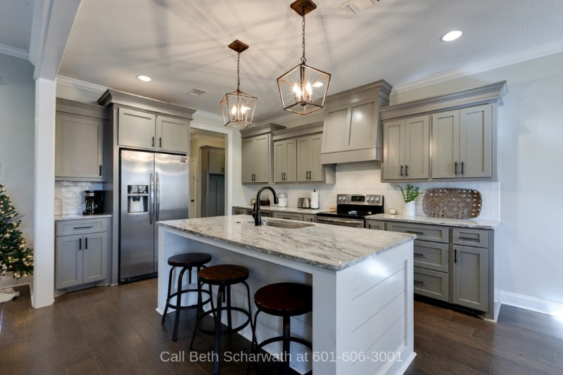 Hattiesburg MS Real Estate Properties for Sale - Bring out your inner chef and prepare the best meals in the lovely kitchen of this home for sale in Hattiesburg MS.