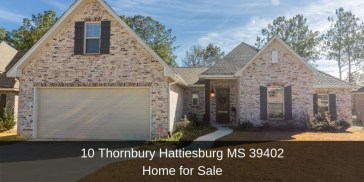 Homes for Sale in Hattiesburg MS - Be captivated by the peace, privacy, and location offered by this custom-built home for sale in Hattiesburg MS.