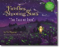 fireflies and shooting stars