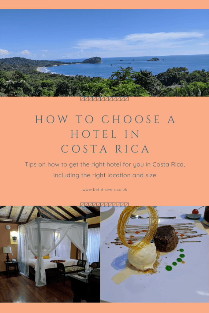 How to Choose a Hotel in Costa Rica Pinterest Pin