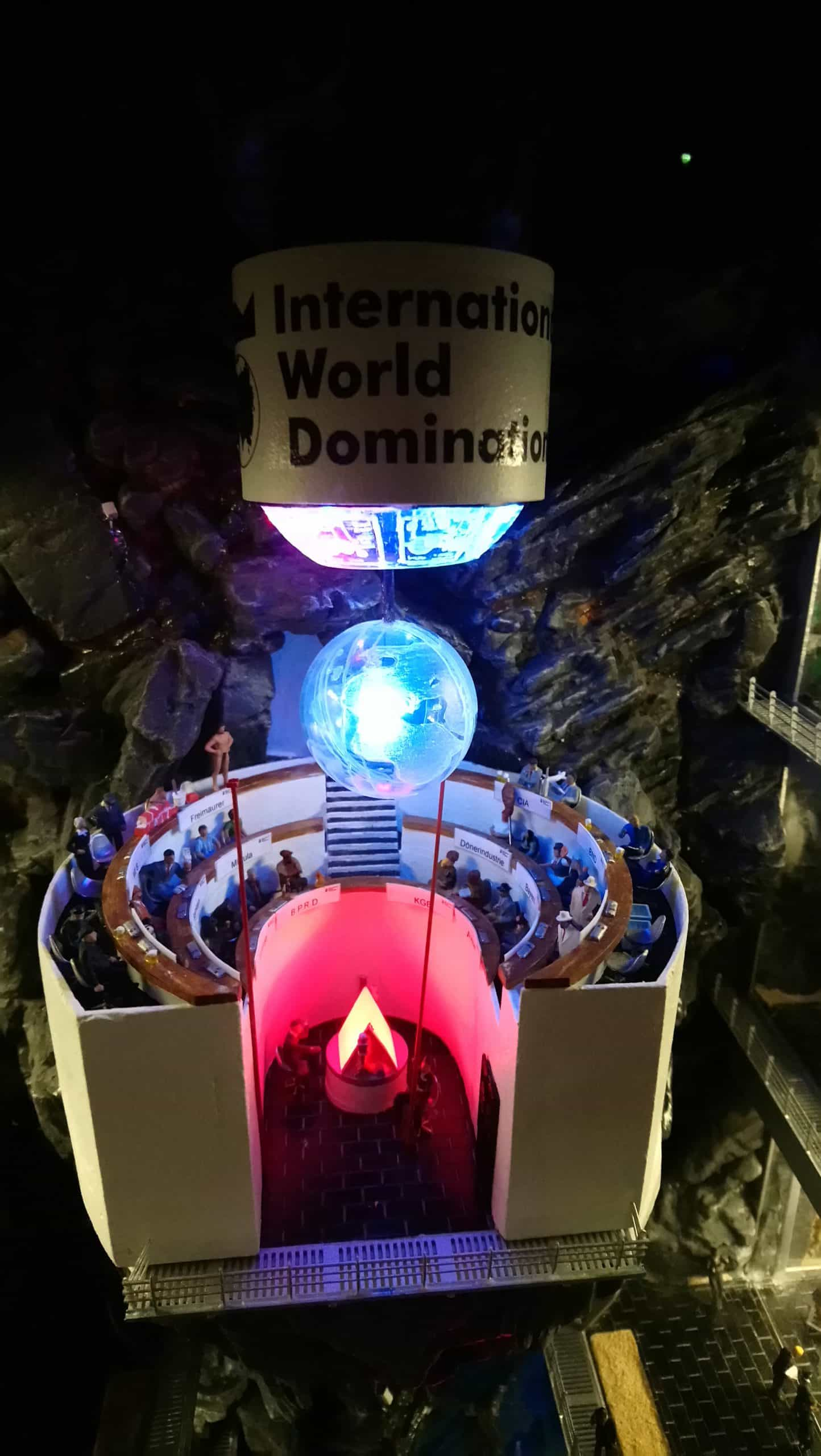 Hamburg's Miniature World is one of the best quirky museums in the world. This is the World Domination League
