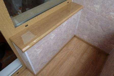 Панели пвх под мрамор для внутренней отделки. Фото