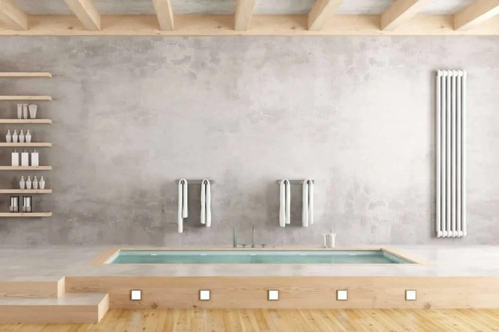 Cement Voegen Badkamer : 5 tips voor de mooiste betonlook badkamer