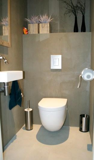 Beton Ciré toilet